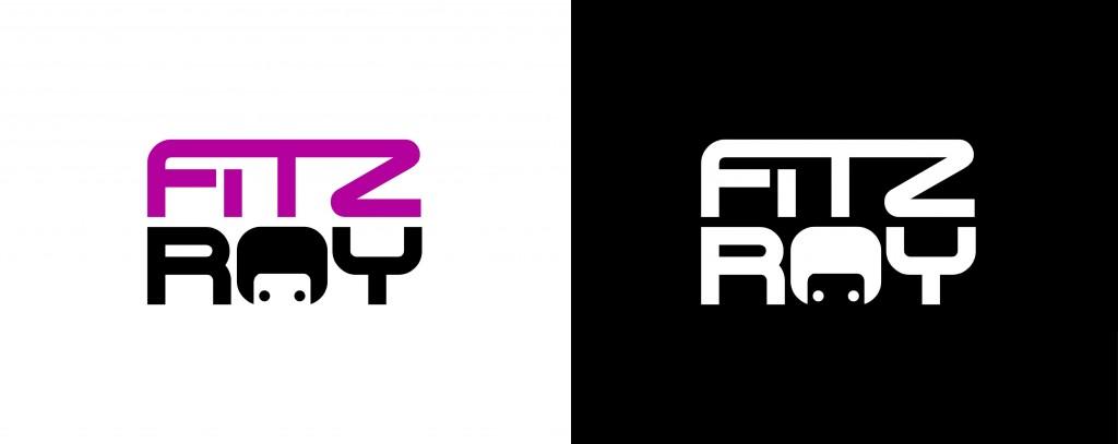 logotipo para la tienda de ropa urbana fitz roy